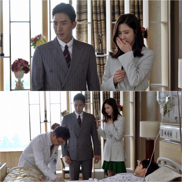 ▲'김비서가 왜 그럴까' 고세원 이수경(사진=tvN)