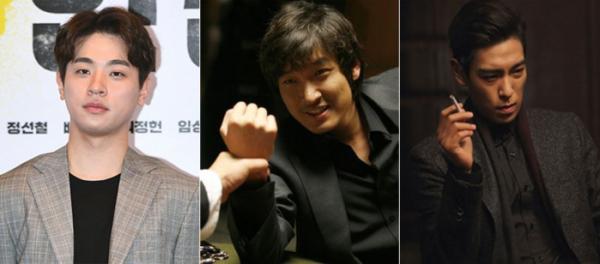 ▲(왼쪽부터) 박정민, 조승우, 최승현(탑)(출처=이투데이DB, 영화 '타짜1,2' 스틸컷)