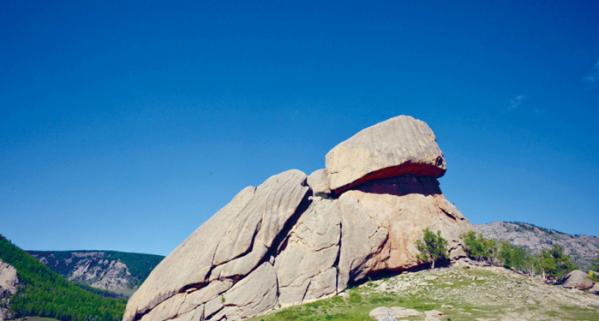 ▲거북바위(사진제공 몽골리아세븐데이즈)