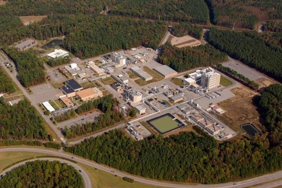 ▲엠팩 버지니아주 피터스버그(Petersburg) 생산시설 전경