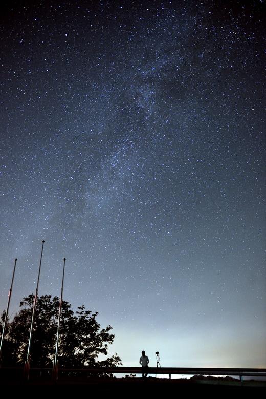 ▲조경철천문대에서 바라본 은하수(사진제공=한국관광공사)