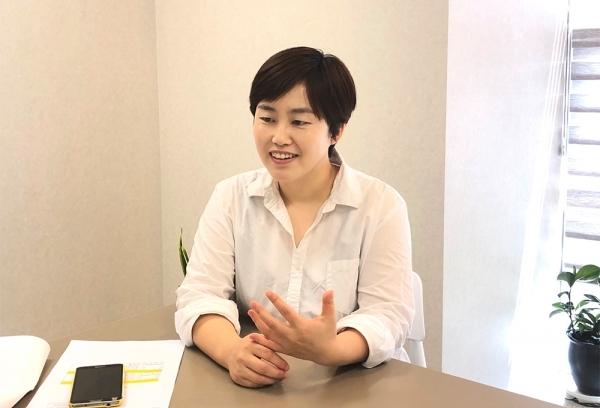 ▲이지현 닥터노아바이오텍 대표.