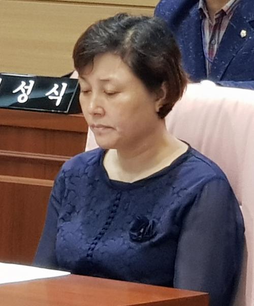 ▲전근향 구의원.(연합뉴스)