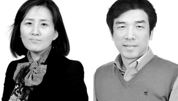 ▲CJ헬스케어 마케팅실 최영미 상무대우(왼쪽), CJ헬스케어 생산본부 변형원 상무대우(오른쪽).