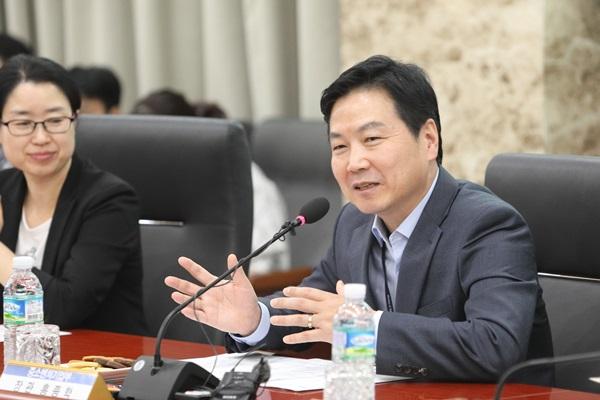 ▲홍종학 중소벤처기업부 장관(사진제공=중소벤처기업부)