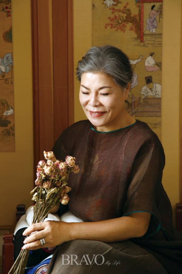 ▲대한민국 대표 한복 장인 박술녀(남상민 작가)