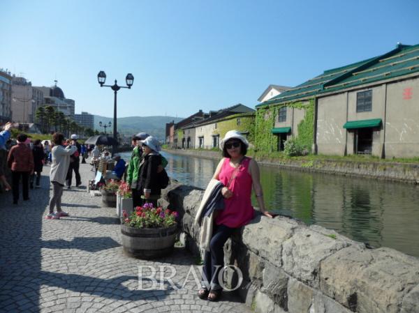 ▲ 오타루 운하(박혜경 동년기자)