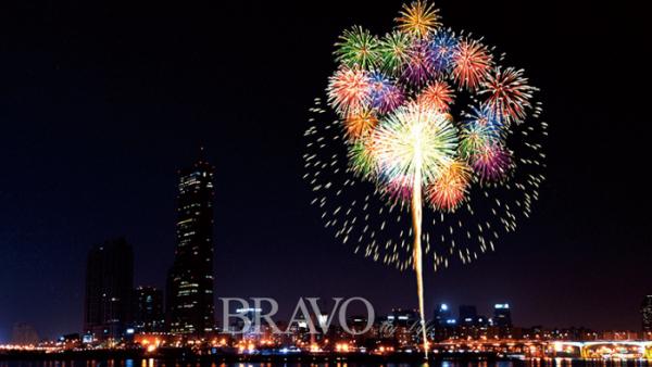 ▲한화와 함께하는 서울세계불꽃축제((주)한화/화약)