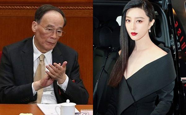 ▲왕치산 중국 국가부주석, 판빙빙.(출처=연합뉴스, 판빙빙 SNS)