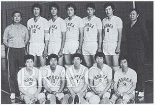 ▲선수 시절의 장윤창 교수. 등번호 3번을 달고 뛰었다.
