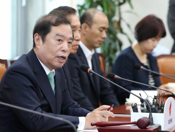 ▲김병준 자유한국당 비상대책위원장(사진=연합뉴스)