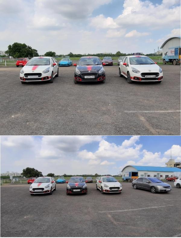 ▲'갤럭시 A7'으로 촬영한 기본 카메라 사진(위)와 초광각 카메라로 촬영한 사진(아래) 비교 모습.(사진제공 샘모바일)