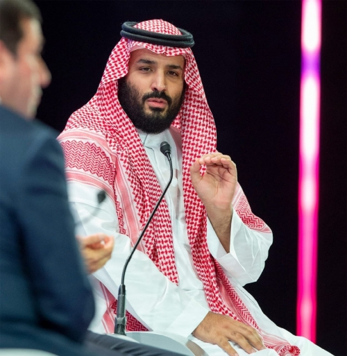 ▲자말 카슈끄지 살인의 배후로 의심받고 있는 무함마드 빈 살만 사우디아라비아 왕세자. AP연합뉴스
