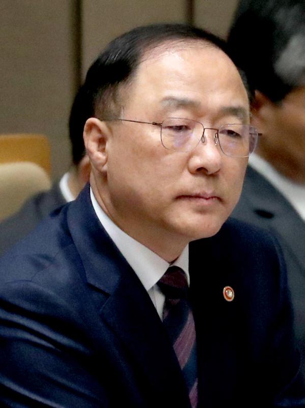 ▲홍남기 경제부총리 겸 기획재정부 장관 임명자(연합뉴스)