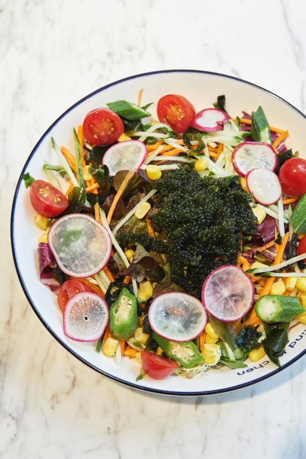 ▲카인드 키친에서는 채식주의자들을 위한 다양한 메뉴를 선보이고 있다.