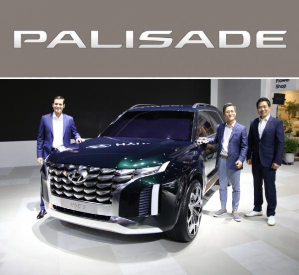 ▲현대차가 팰리세이드를 앞세워 공백상태였던 대형 SUV 시장에 재도전한다. 사진은 팰리세이드의 밑그림이된 HDC-2의 모습. (사진제공=현대차)