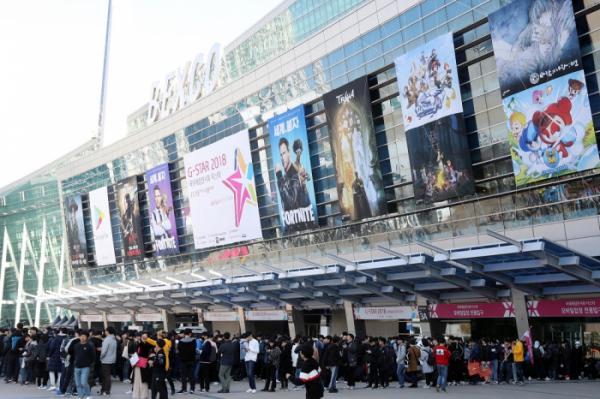 ▲국내 최대의 게임전시회 '지스타(G-STAR) 2018'이 15일 부산 해운대 벡스코에서 개막했다. (연합뉴스)