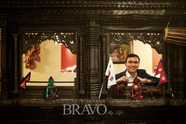▲인도·네팔 요리전문점 '두르가' 대표 비노드 쿤워(오병돈 프리랜서 obdlife@gmail.com)