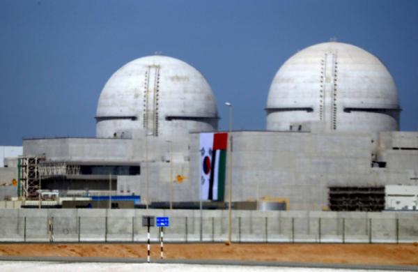 ▲바라카 원전 1호기 전경.(뉴시스)