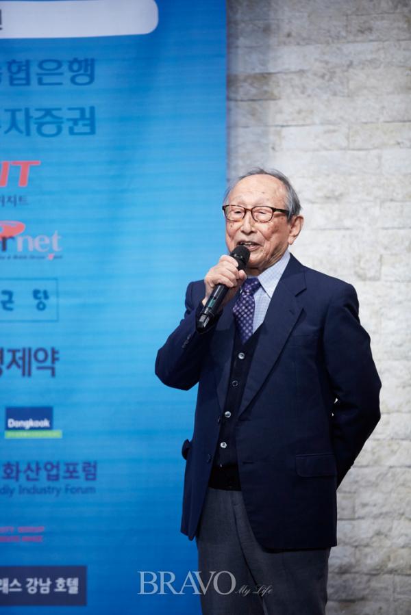 ▲99세 철학자 김형석 교수(사진 오병돈 프리랜서 obdlife@gmail.com)
