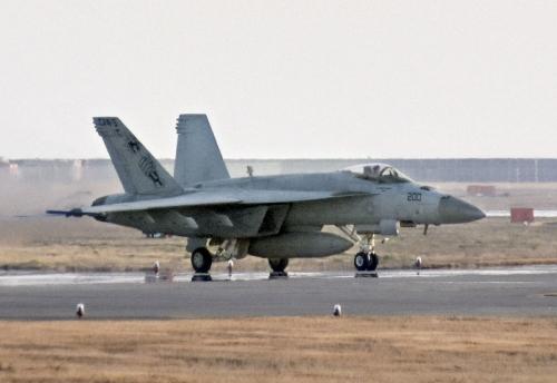 ▲F/A-18 전투기. AP연합뉴스