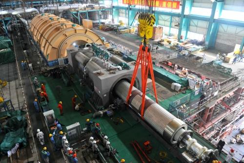 ▲세계 첫 3세대 원전인 중국 타이산 원자력발전소의 1호 원자로. 타이산/신화뉴시스