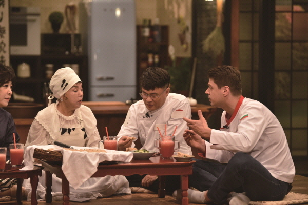 ▲'수미네 반찬' 현장 스틸 컷(tvN 제공)