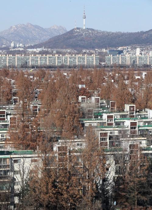 ▲반포주공1단지 3주구 아파트 전경(사진=연합뉴스)