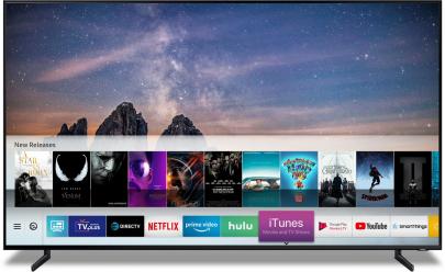 ▲삼성의 스마트 TV(사진제공=삼성전자)