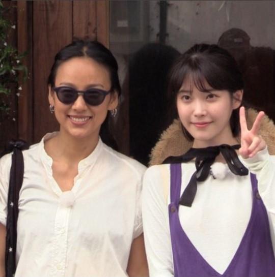 ▲이효리(왼), 아이유(출처='효리네 민박' 공식 인스타그램)