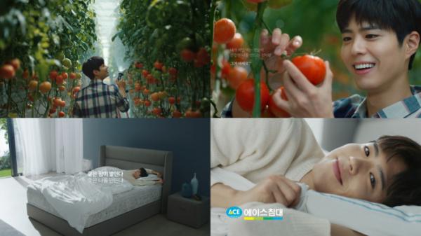 ▲박보검 신규 광고 캠페인 2탄 공개(사진제공=에이스침대)