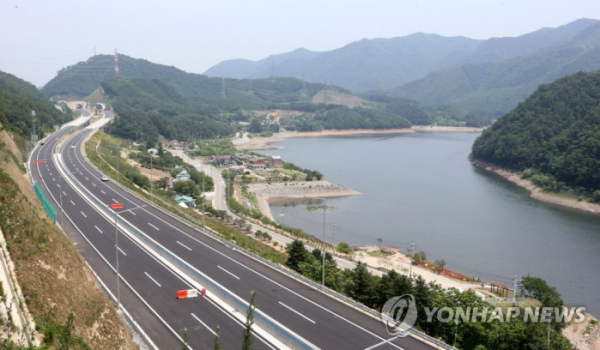 ▲구리~포천 고속도로 전경.(연합뉴스)