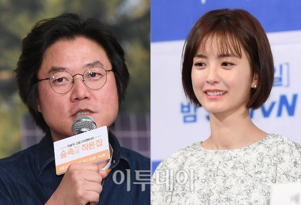 ▲나영석 PD(왼쪽)와 배우 정유미(이투데이DB)