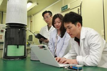 ▲LG전자의 공기과학연구소는 공기청정 관련 핵심기술의 연구개발을 전담하고 있다.     사진제공 LG전자