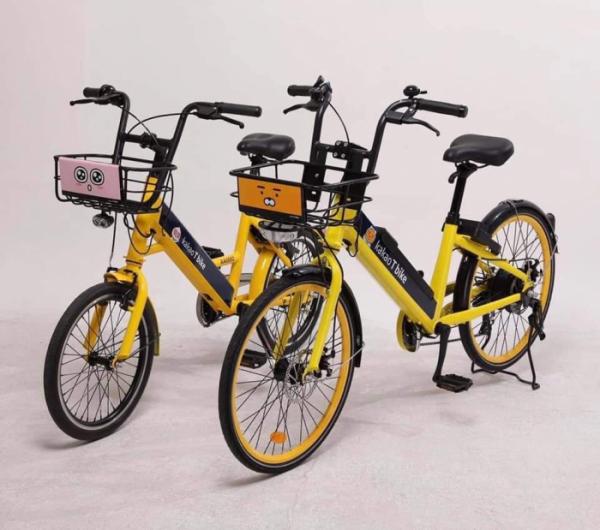 ▲카카오T 바이크 전기자전거. (카카오모빌리티)
