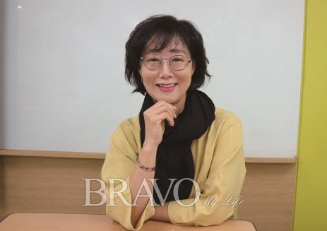 ▲동년배 상담가로서 활약을 기대하는 윤영란 씨