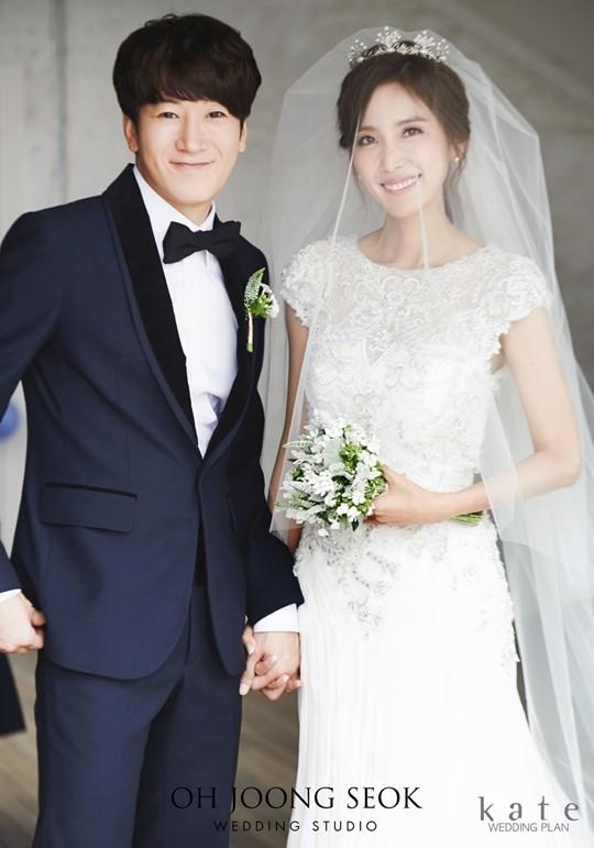 ▲허규-신동미 부부(사진제공=스타하우스엔터테인먼트)