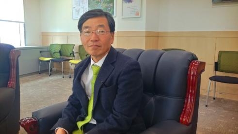 ▲이영호 대구경북첨단의료산업진흥재단 이사장