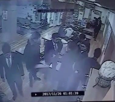 (출처=곰탕집 성추행 논란 당시 CCTV)