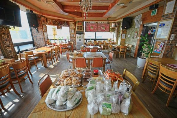 ▲태국인이 운영하는 태국식당.