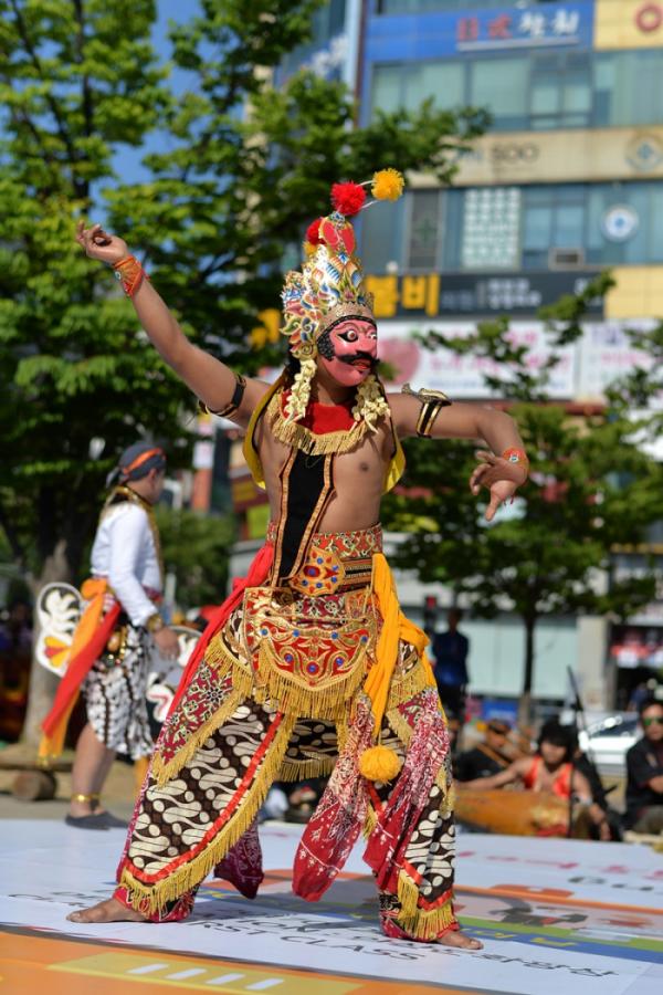 ▲다문화축제가 열리고 있는 모습.(사진제공=안산시 외국인주민지원본부)