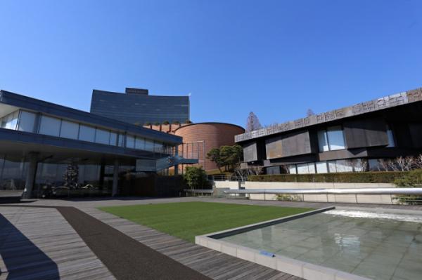 ▲세계 유명 건축가들이 설계한 삼성미술관 리움.