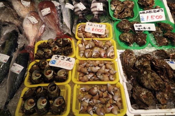 ▲히미에서 나오는 신선한 해산물(이화자 작가 제공)