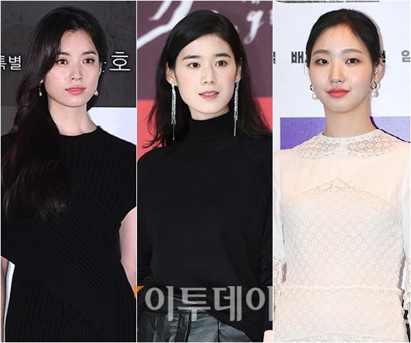 ▲한효주(왼), 정은채, 한고은