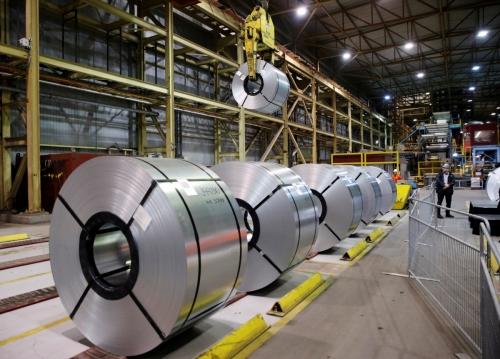 ▲캐나다에 있는 한 철강 공장. /로이터연합뉴스