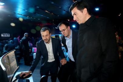 ▲삼성전자 칠레법인은 10일(현지시간) 주요 거래선들이 참석한 가운데, B2B 행사인 '비즈니스 서밋 2019 프레임워크'(Business Summit 2019 framework)를 진행했다. (출처=삼성전자 칠레 뉴스룸)