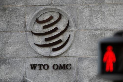 ▲스위스 제네바에 있는 세계무역기구(WTO).  로이터연합뉴스