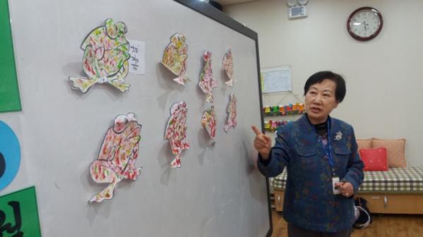 ▲시니어 케어 매니저 석주화 씨 활동 모습(석주화 씨 제공)