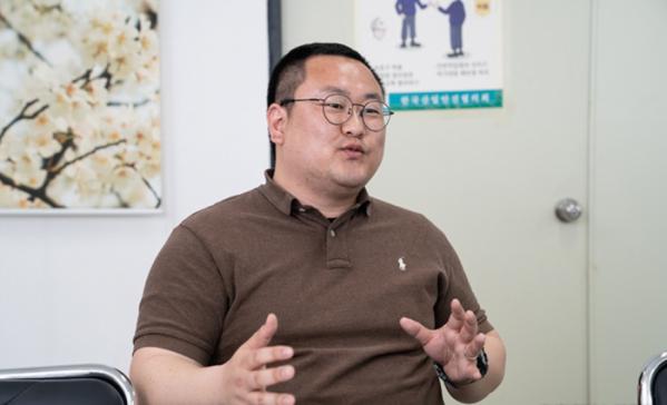 ▲SK하이닉스 김형규 기장(사진제공 SK하이닉스)
