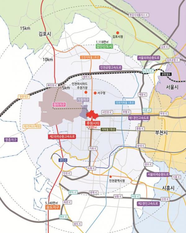 ▲인천 루원시티·가정지구 위치도 (사진출처=LH)